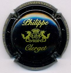 capsule de champagne du producteur clerget philippe. Black Bedroom Furniture Sets. Home Design Ideas