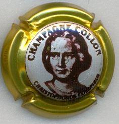 Série de 6  capsules Champagne   COLLON Zodiaique