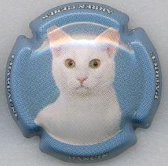 Série de  6 capsules  de Champagne  DANGIN Patrice les chats